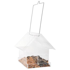 Esschert Design Acryl hangende combivoedersilo huis - FB374