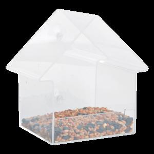 Esschert Design Acryl raamvoedertafel huis - FB370