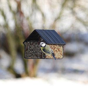 Wildlife Garden Zwart Voederhuisje voor Vetbollen