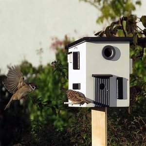 Wildlife Garden Multiholk Functioneel Nestkast & Voederhuisje - WG108