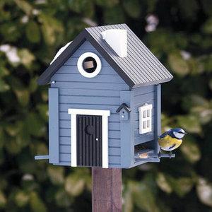 Wildlife Garden Multiholk Blue Cottage -  Nestkast & Voederhuisje - WG118