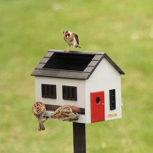 Wildlife Garden Vogelvoederhuis met bad Grijs - WG356