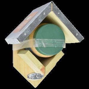 Esschert Design Pindakaashuisje met pindakaaspot - FB257D