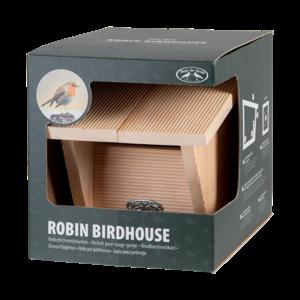 Esschert Design Roodborst nestkast geschenkverpakking