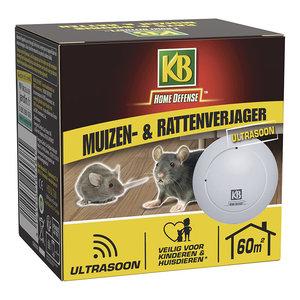 KB Home Defense Muizen- & Rattenverjager 60 m²