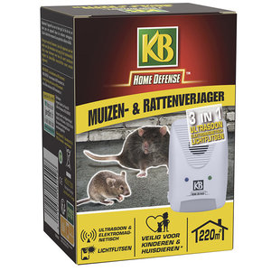 KB Home Defense Muizen- & Rattenverjager 220 m²