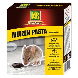 KB Home Defense Muizen Pasta met Lokstation 2 stuks