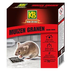 KB Home Defense Muizen Granen met lokstation 2 stuks