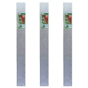 Meuwissen Agro Graskant metaal 118 x 13 cm