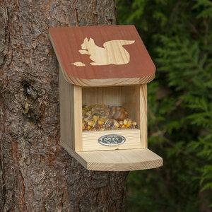 Esschert Design Diapositief eekhoorn voederhuis