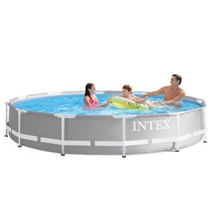 Intex Prism Frame Zwembad 366 x 76 cm met filter pomp