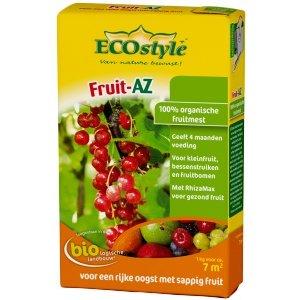 ECOstyle Fruit AZ natuurlijke meststof NPK 7-3-10 - 800 gram