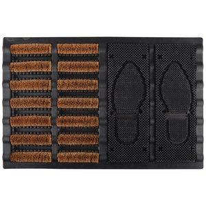 Esschert Design Voetveger kokos/rubber - RB188