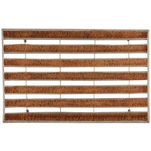 Esschert Design Metalen deurmat met kokosrol - NVV20