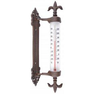 Esschert Design Kozijnthermometer gietijzer - TH84