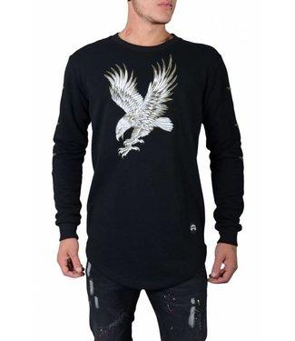 DJ White Eagle Sweater Zwart