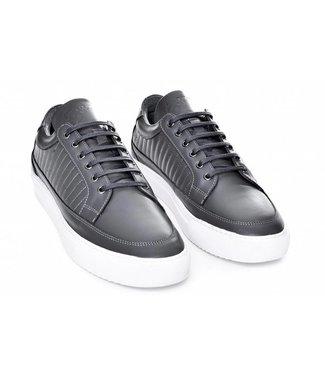 G3ntz Exclusive Shoes Echt Leder Grijs