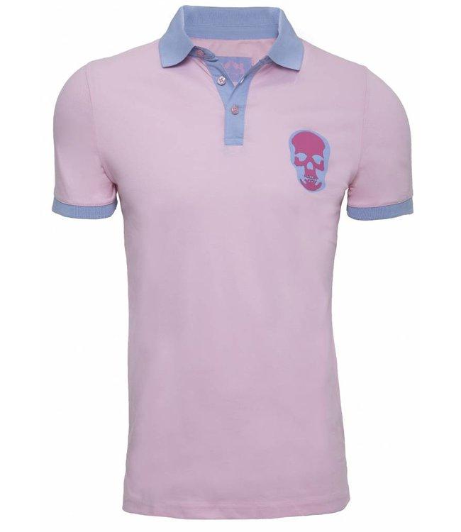 Pascucci Armando Polo shirt Roze