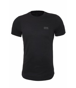 Pascucci Casual  T-Shirt Stretch Zwart