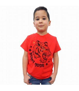G-Brand Beast Mode Rood Kids