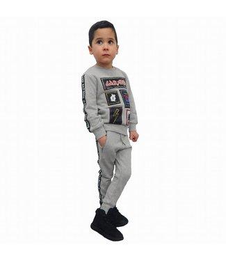 G-Brand Bad Boys Joggingpak Grijs Kids