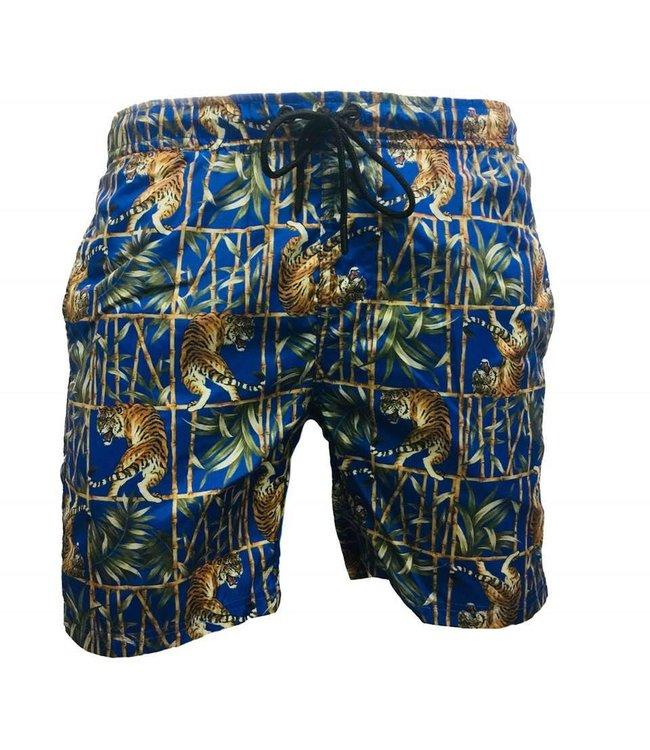 Zwembroek Blauw Heren.Hite Couture Heren Zwembroek Zermer Blauw Rio Fashion
