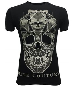 Hite Couture Muter Stretch Slim Fit T-Shirt - Zwart