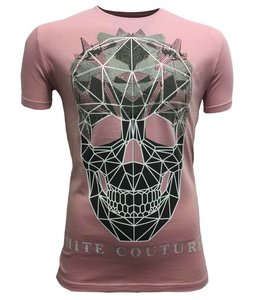 Hite Couture Muter Stretch Slim Fit T-Shirt - Rose