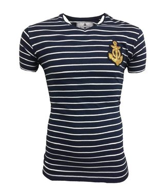 Hite Couture Mirer Slim Fit T-Shirt - Navy