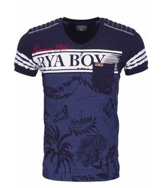 Arya boy Arya Boy - Nico T-shirt Navy
