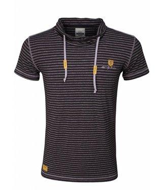 Wam Denim Wam denim - Celino T-shirt Zwart