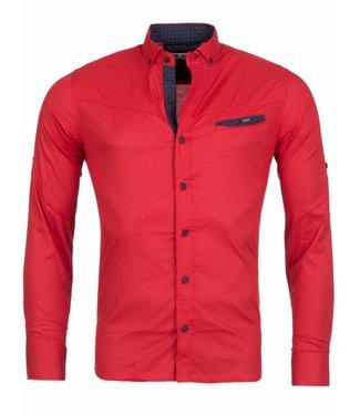 Rerock Overhemd Lite Rood