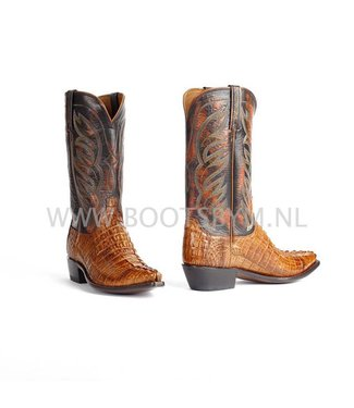 Lucchese Crocodile leather cowboy boot