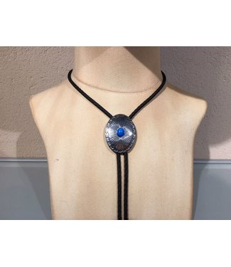 Bolo tie turquoise steen