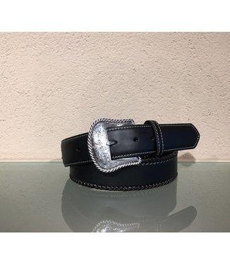 Nocona Black leather belt