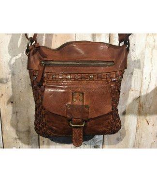 Harbour 2nd Cognac leather bag Aurora