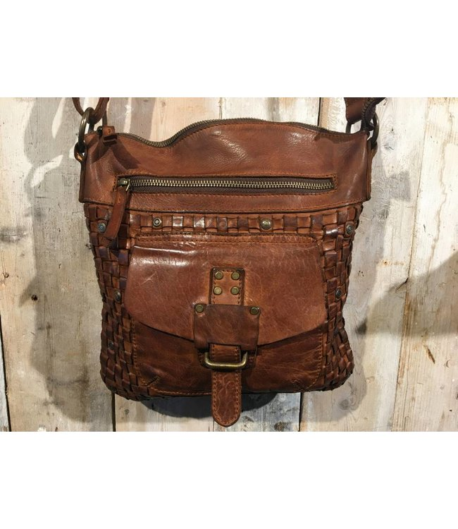 Harbour 2nd Cognac leather bag