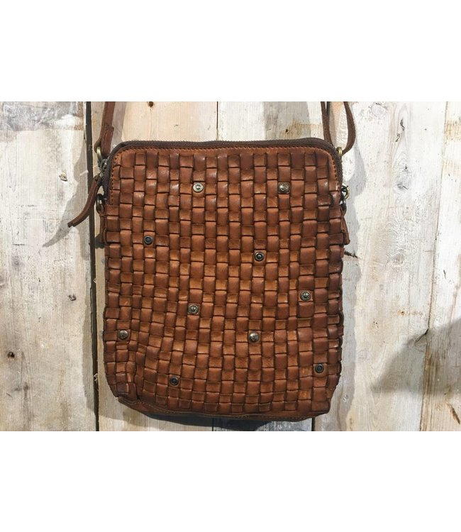 Harbour 2nd leren tas cognac Ida