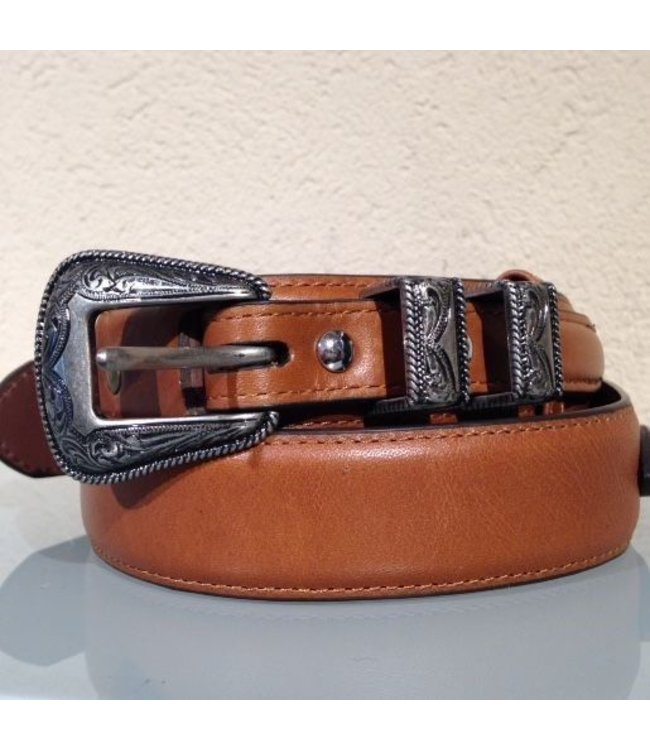 Nocona Cognac leather belt