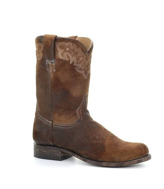 Corral Short leather cowboy boots