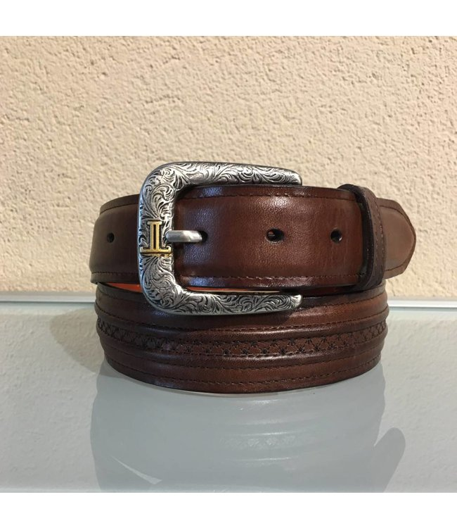 Lucchese Brown leather belt