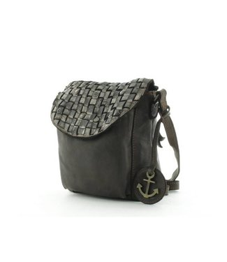 Harbour 2nd Black leather bag Mamamia