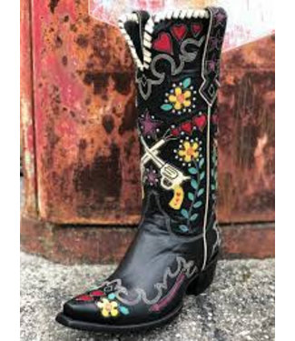 Double D Ranch Exclusieve cowboy laars Cowgirl Bandit