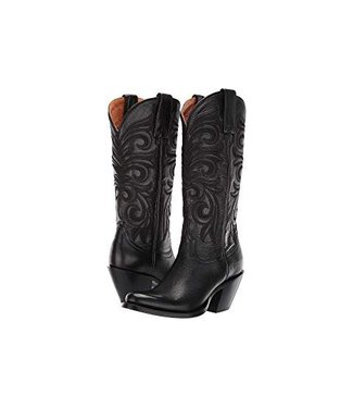 Lucchese Black feminine western boot