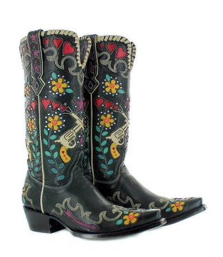 Old Gringo- Double D Ranch Exklusiver Westernstiefel Cowgirl Bandit