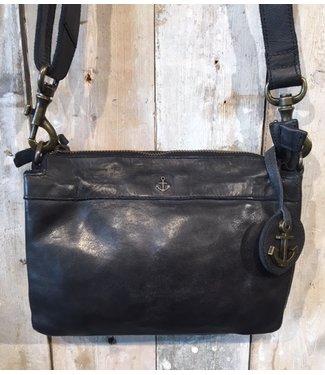 Harbour 2nd Black leather bag Evita