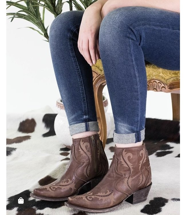 Corral  Bruin leather ankle boot