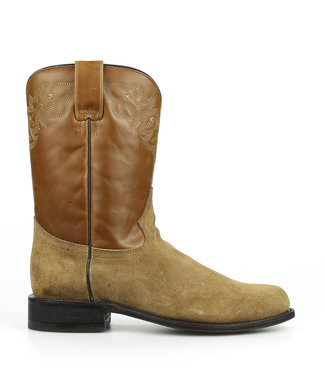 Corral  Mid calf suede boots