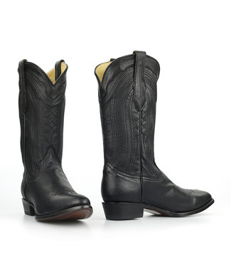 Corral  Western boot in black leather