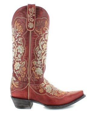 Old Gringo Red leather western boot
